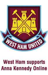 West Ham Supports Anna Kennedy Online