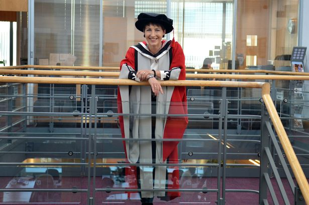Campaigner who set up school for autistic pupils delighted at Teesside University honorary degree