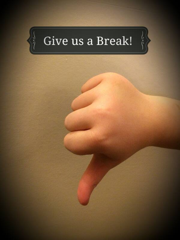 Give us a Break! 17th – 21st November Anti Bullying Week.
