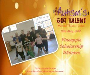 Pineapple Performing Arts Scholarship Winners