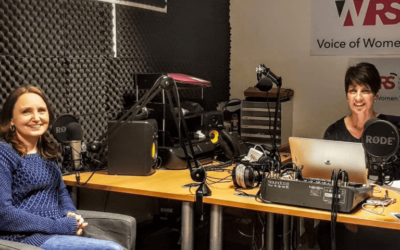 Callum Kirrage's Mum Heidi Talks with Anna Kennedy at Women's Radio Station